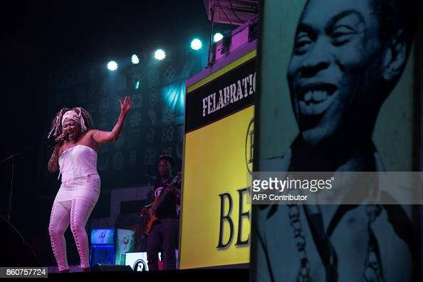 Canada-based Nigerian singer, Sonia Aimy performs at the