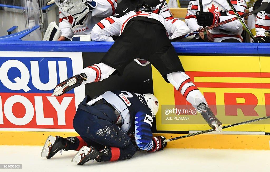 United States v Canada - 2018 IIHF Ice Hockey World Championship