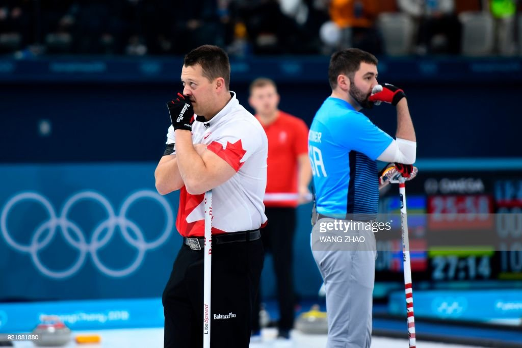 CURLING-OLY-2018-PYEONGCHANG-DEN-CAN : News Photo