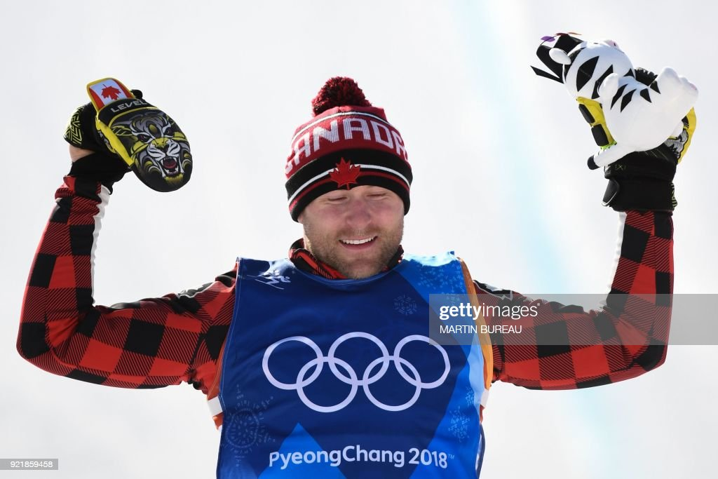 FREESTYLE SKIING-OLY-2018-PYEONGCHANG-PODIUM : News Photo