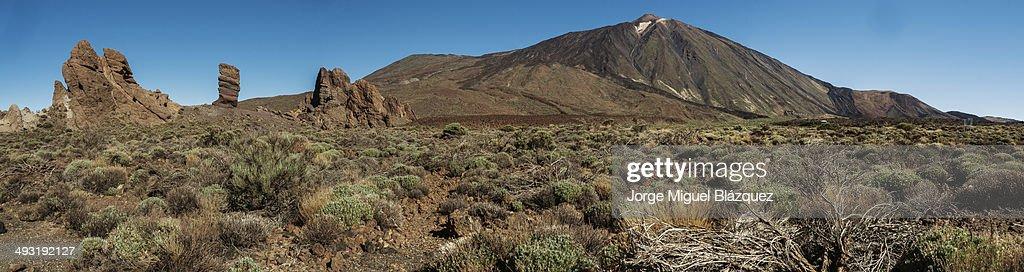 Canadas de Teide : Foto de stock