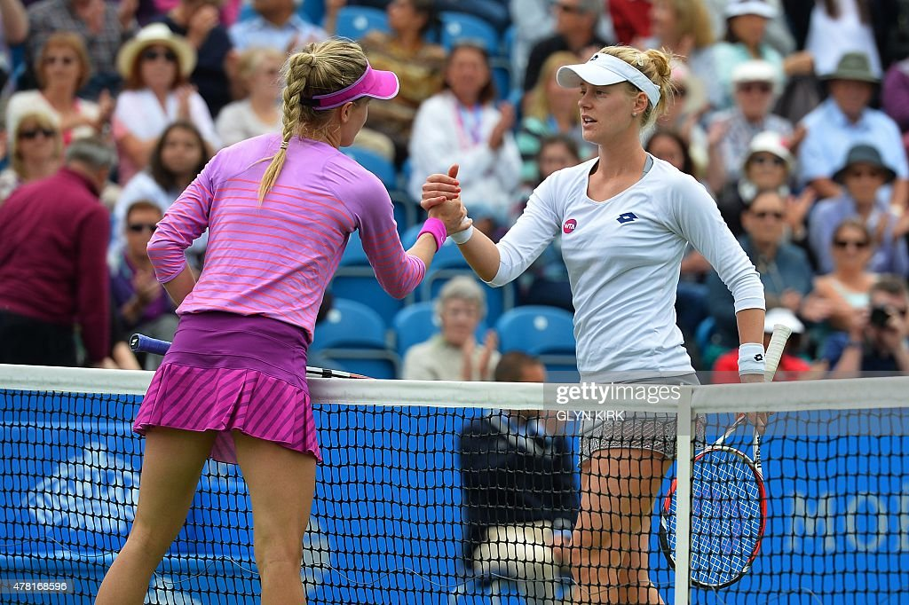 TENNIS-WTA-GBR-EASTBOURNE : News Photo