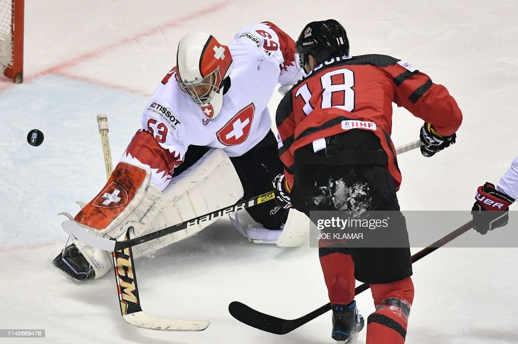 SVK: Canada v Switzerland: Quarter Final - 2019 IIHF Ice Hockey World Championship Slovakia