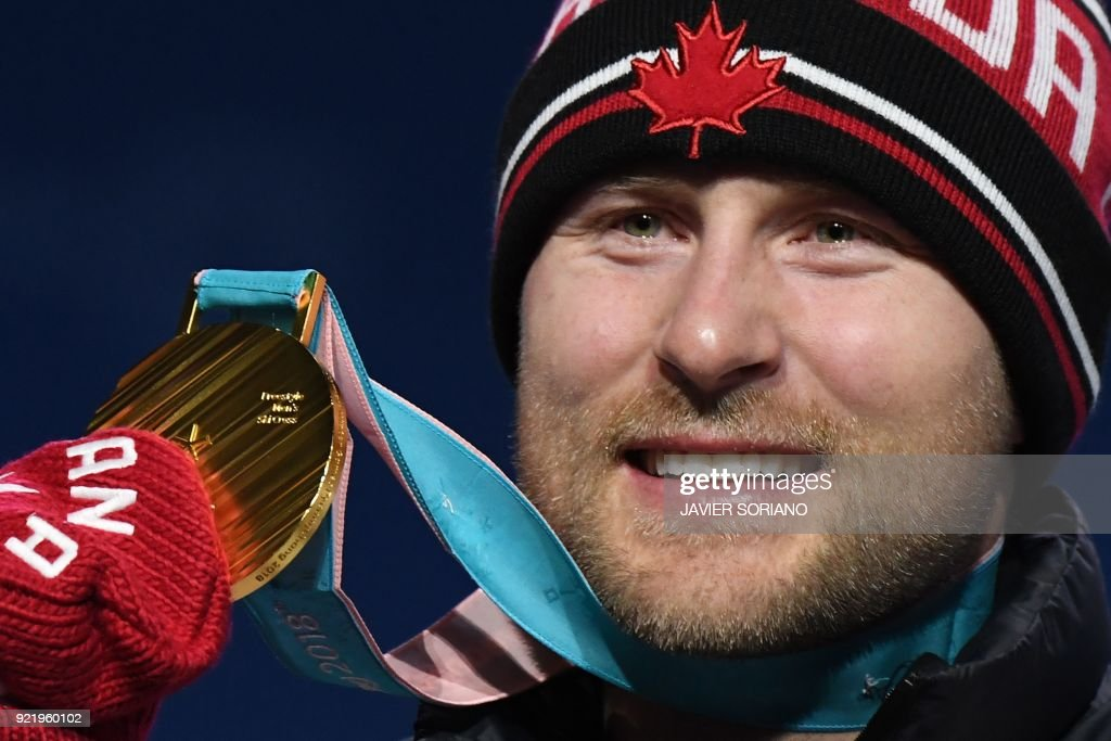 FREESTYLE SKIING-OLY-2018-PYEONGCHANG-MEDALS : News Photo