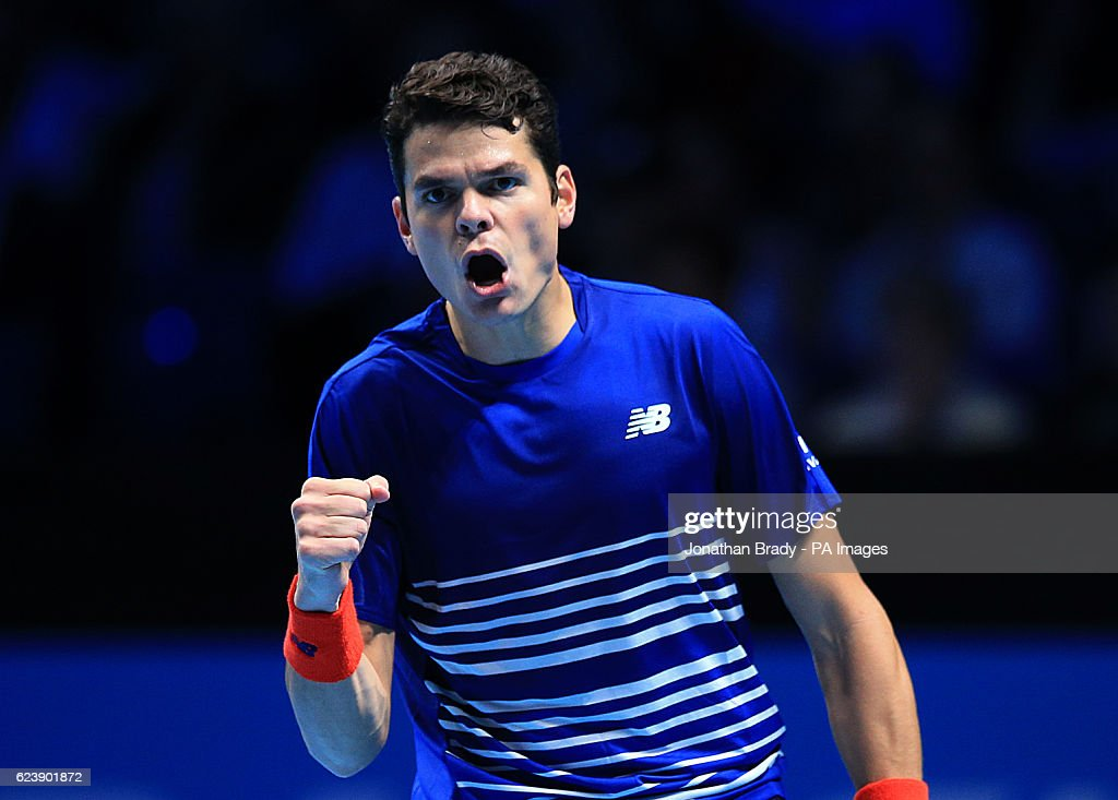 Barclays ATP World Tour Finals - Day Five - The O2 : News Photo