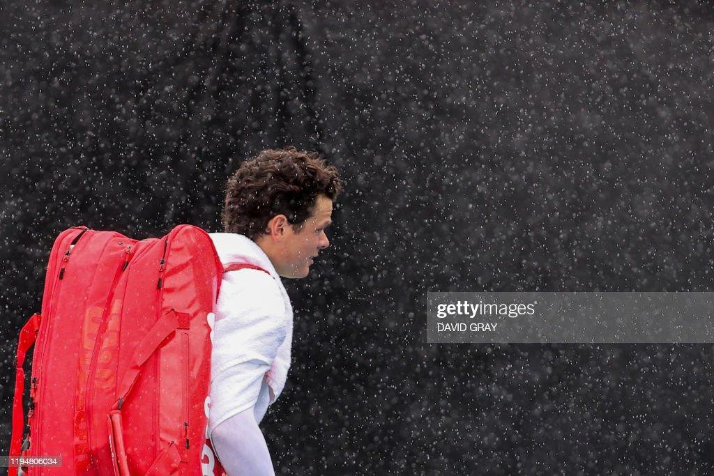 TENNIS-AUS-OPEN : News Photo