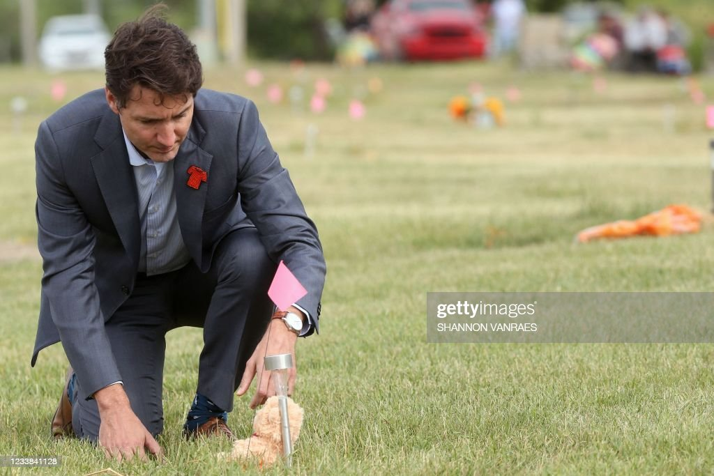 CANADA-POLITICS-TRUDEAU-INDIGENEOUS : News Photo