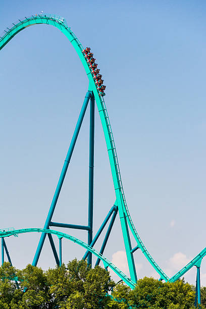 Canada's Wonderland Leviathan Roller Coaster.Rollercoaster ...