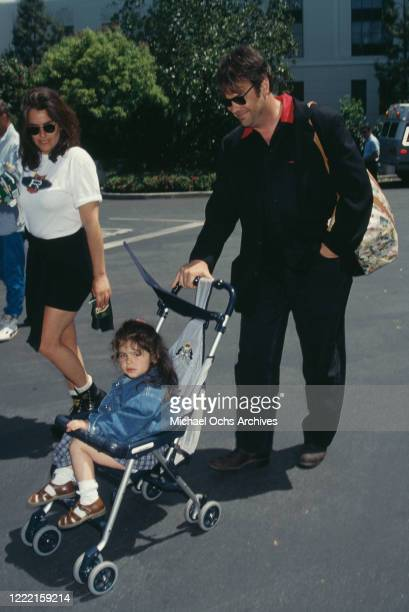 Canadian actor and comedian Dan Aykroyd and his daughter Danielle Aykroyd the premiere of 'Cops and Robbersons' held at Sony Studios in Culver City...