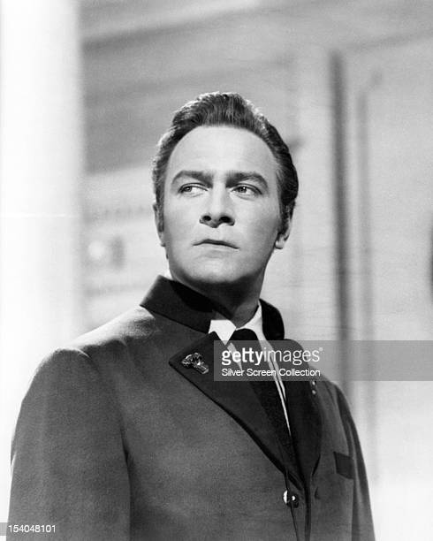 Canadian actor Christopher Plummer as Captain Georg von Trapp in 'The Sound of Music' directed by Robert Wise 1965