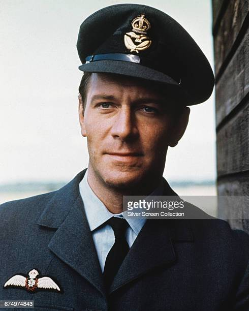 Canadian actor Christopher Plummer as Squadron Leader Colin Harvey in the World War II film 'Battle of Britain' 1969