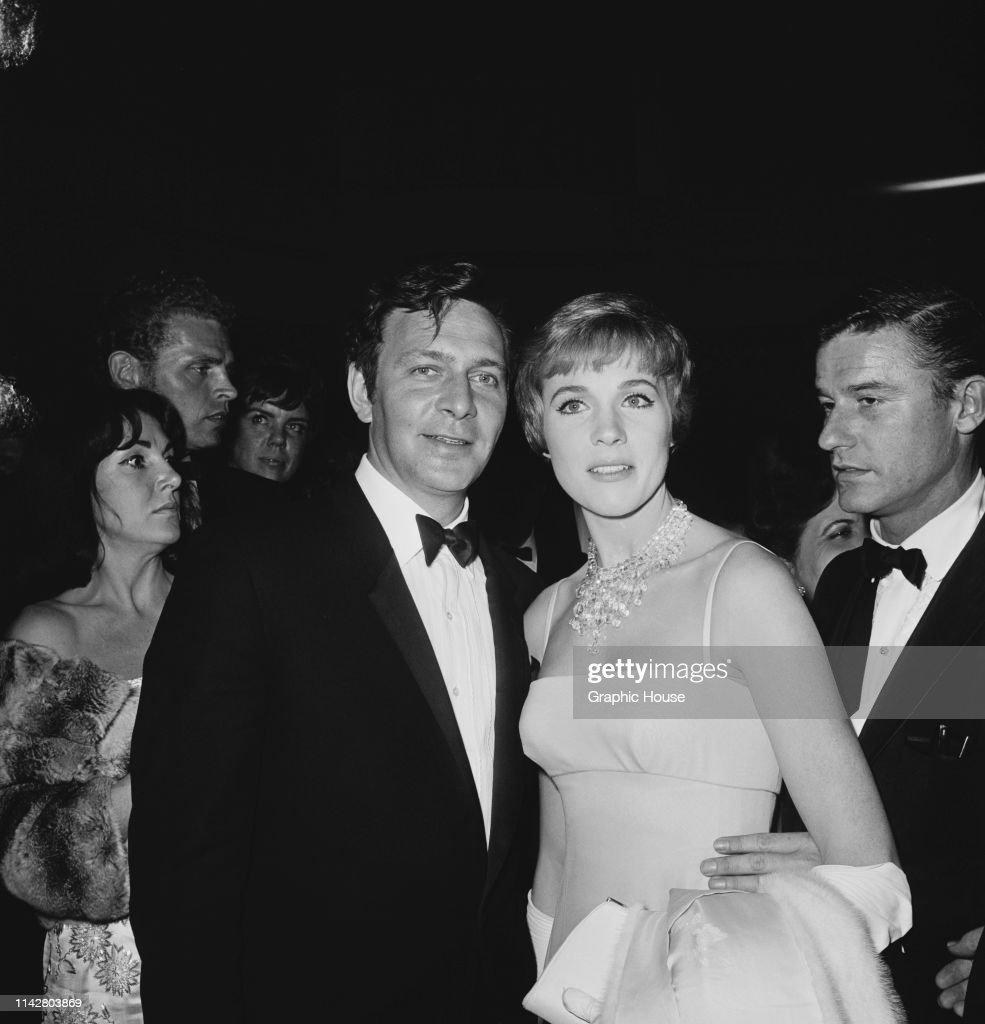 Canadian actor Christopher Plummer, British actress Julie ...