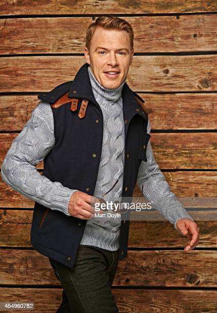 Canadian actor Diego Klattenhoff is photographed for Sharp Magazine on April 13 in New York City