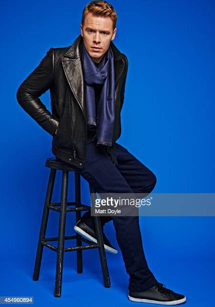 Canadian actor Diego Klattenhoff is photographed for Sharp Magazine on April 13 in New York City PUBLISHED IMAGE