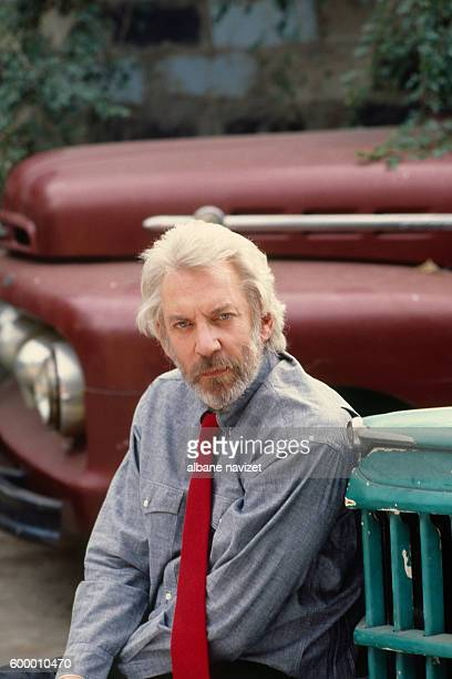 Canadian actor Donald Sutherland