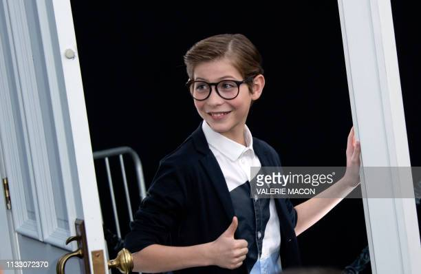 """Canadian actor Jacob Tremblay attends CBS' """"The Twilight Zone"""" premiere at the Harmony Gold Preview House on March 26, 2019 in Los Angeles,..."""