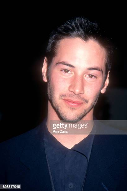 Canadian actor Keanu Reeves attends the Seventh Annual IFPWest Independent Spirit Awards on March 28 1992 at Raleigh Studios in Hollywood California