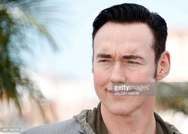Canadian actor Kevin Durand poses during a photocall for the film Captives at the 67th edition of the Cannes Film Festival in Cannes southern France...