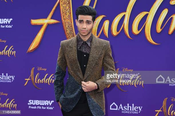 Canadian actor Mena Massoud attends the World Premiere of Disneys Aladdin at El Capitan theatre on May 21 2019 in Hollywood