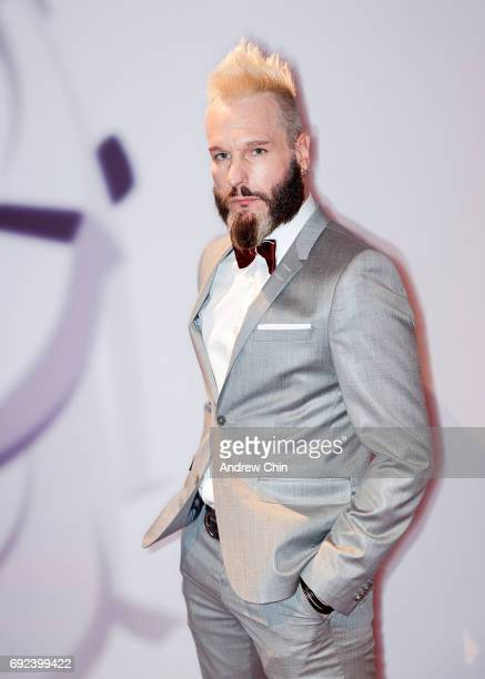 Canadian actor Michael Eklund attends the Leo Awards 2017 at Hyatt Regency Vancouver on June 4 2017 in Vancouver Canada