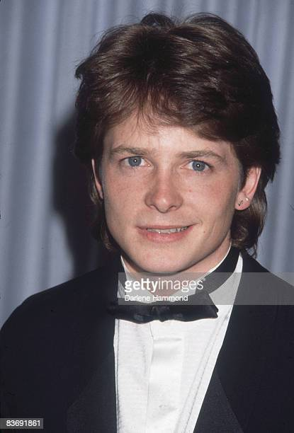 Canadian actor Michael J Fox attends the Academy Awards at the Dorothy Chandler Pavilion Los Angeles California March 24 1986