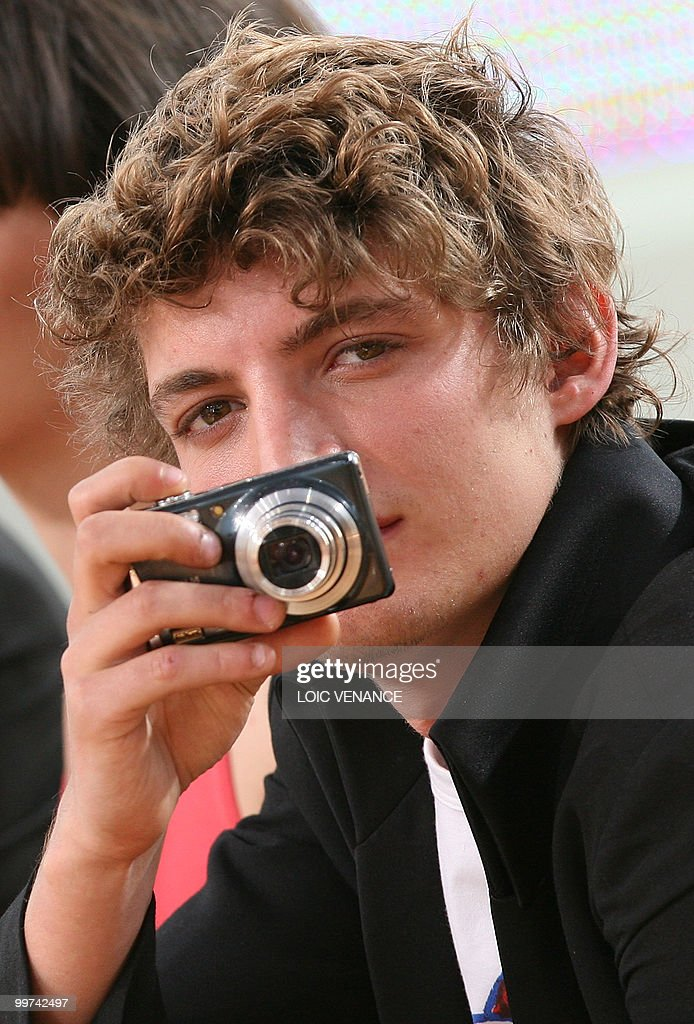 Canadian actor Niels Schneider attends the Canal+ TV show 'Le Grand Journal' at the 63rd Cannes Film Festival on May 17, 2010 in Cannes.
