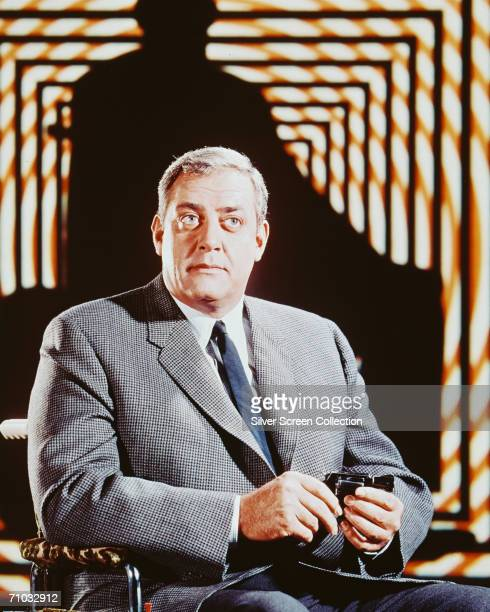 Canadian actor Raymond Burr as wheelchairbound San Francisco detective Robert Ironside in the 'Ironside' television series circa 1970