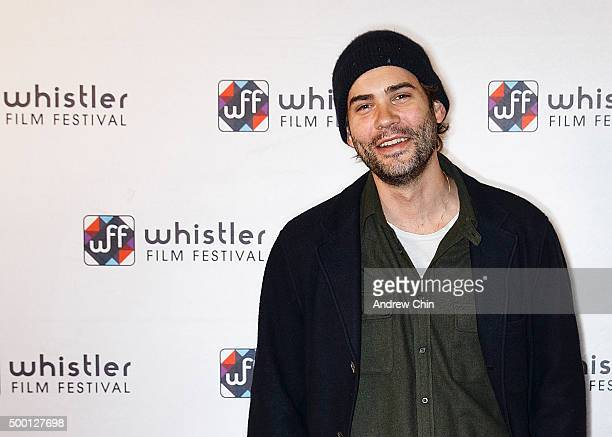 Canadian actor Rossif Sutherland attends the Borsos Competition/Western Canadian premiere of 'River' during the 15th Annual Film Festival at Whistler...