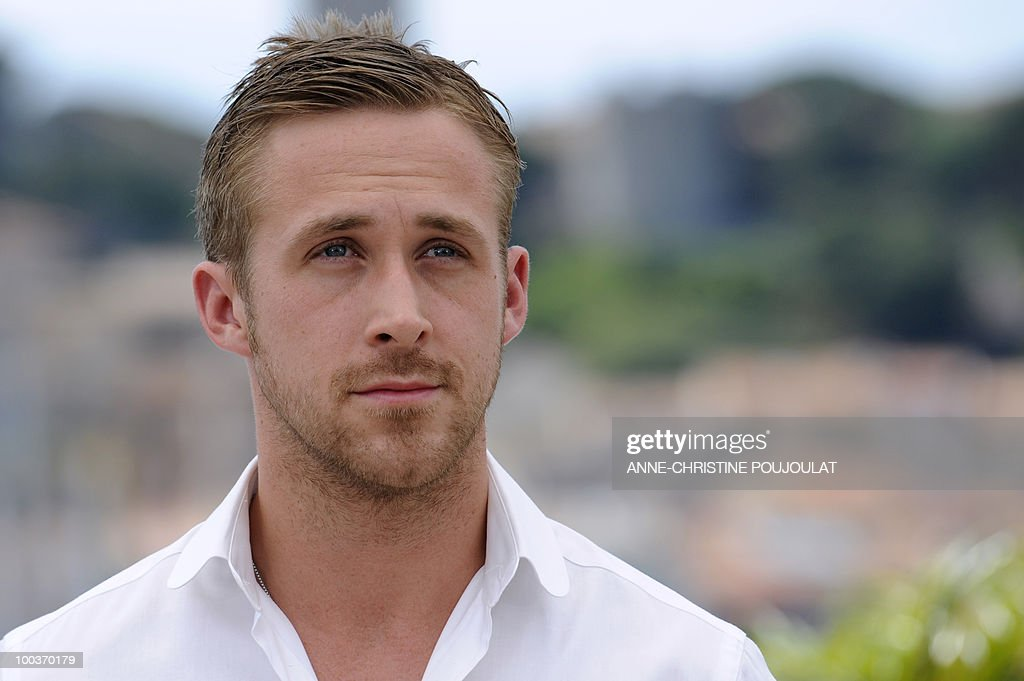 Canadian actor Ryan Gosling poses during the photocall of 'Blue Valentine' presented in the Un Certain Regard selection at the 63rd Cannes Film Festival on May 18, 2010 in Cannes.