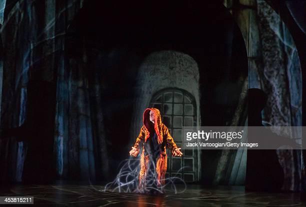 Canadian actor Vincent Leclerc performs in the Theatre du Nouveau Monde / Lemieux Pilon 4D Art co-production of 'La Belle et la Bete' at the BAM...