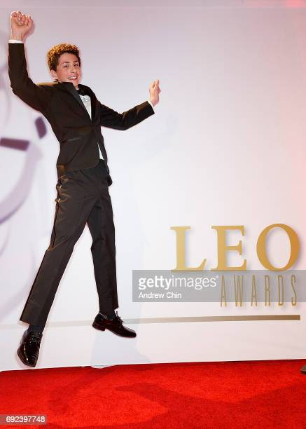 Canadian actor William Ainscough attends the Leo Awards 2017 at Hyatt Regency Vancouver on June 4 2017 in Vancouver Canada