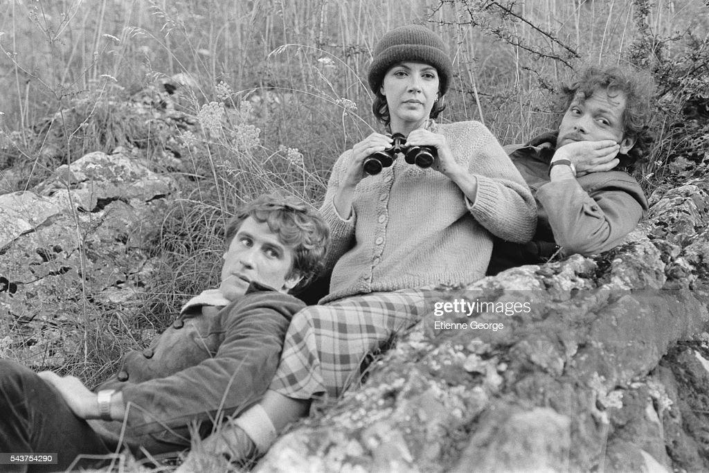 en soldes bien pas cher bonne vente Canadian actress and singer Carole Laure , French actors ...