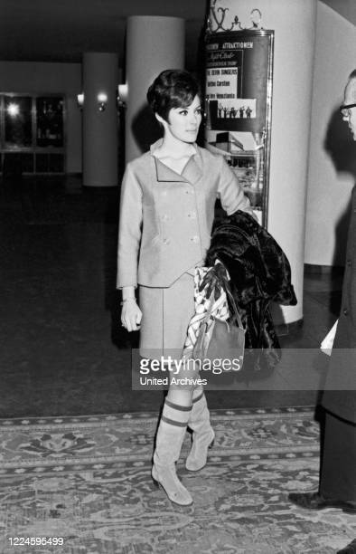 Canadian actress Beverly Adams in Munich Germany 1960s