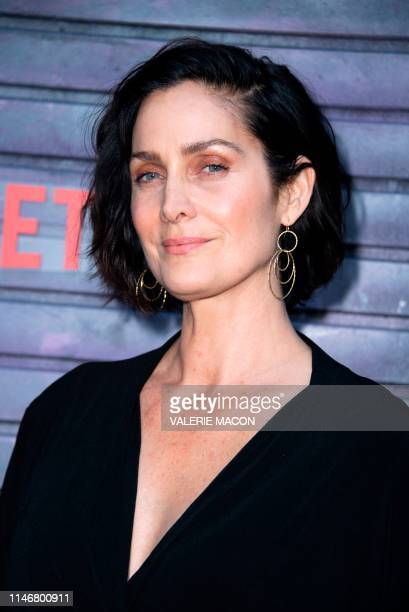 Canadian actress CarrieAnne Moss attends Marvel's Jessica Jones Season 3 Special Screening on May 28 2019 in Los Angeles