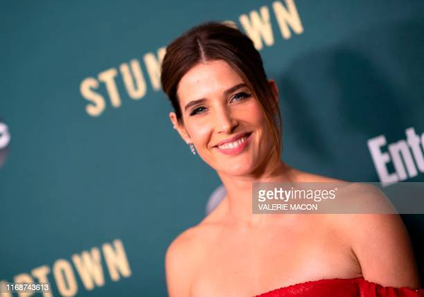 "Canadian actress Cobie Smulders attends the premiere of ABC's ""Stumptown"" at the Petersen Automotive Museum, September 16 in Los Angeles."