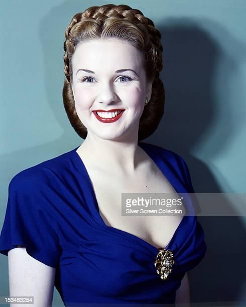 Canadian actress Deanna Durbin circa 1940