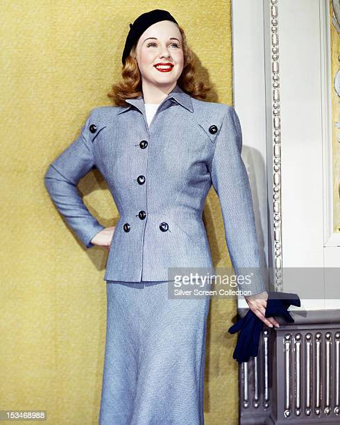 Canadian actress Deanna Durbin circa 1945
