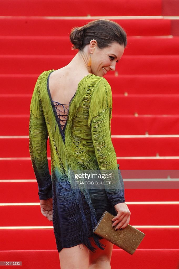 Canadian actress Evangeline Lilly arrives for the screening of 'You Will Meet a Tall Dark Stranger' presented out of competition at the 63rd Cannes Film Festival on May 15, 2010 in Cannes.