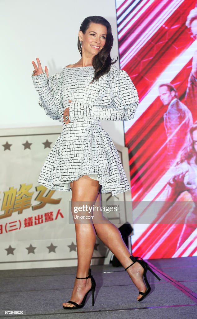 'Ant-Man And The Wasp' Taipei Press Conference : News Photo