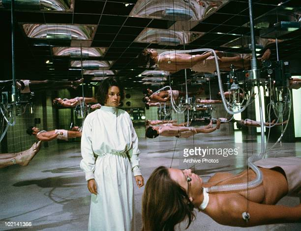 Canadian actress Genevieve Bujold in 'Coma' directed by Michael Crichton 1978