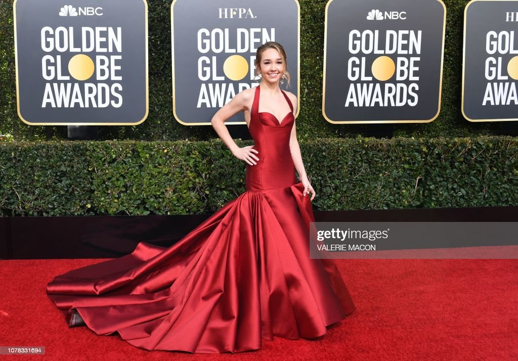 US-ENTERTAINMENT-FILM-TELEVISION-GOLDEN-GLOBES-ARRIVALS : Foto jornalística