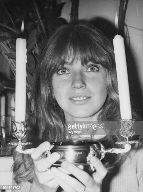 Canadian actress Joanna Shimkus wins the Prix Bistingo '67 25th April 1967
