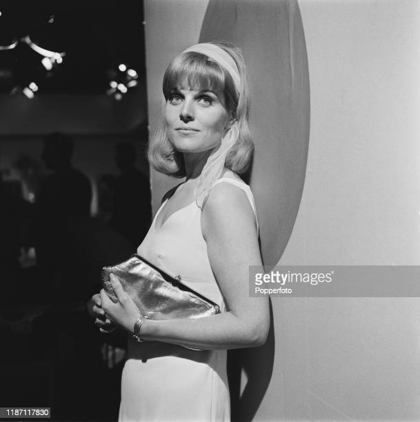 Canadian actress Joanne Dainton plays the character of Carol Shaw in the ABC Weekend Television drama 'Armchair Theatre Dead Silence' in August 1966