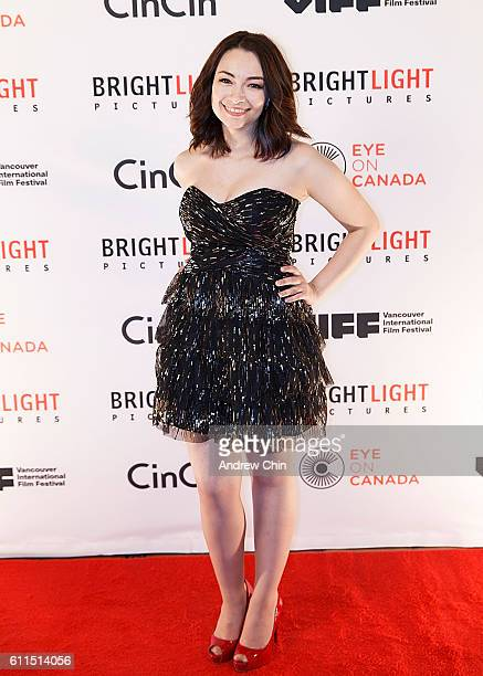 Canadian actress Jodelle Ferland attends Brightlight Pictures' VIFF Red Carpet Party at CinCin on September 29 2016 in Vancouver Canada