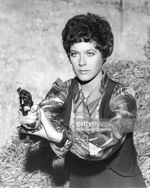 Canadian actress Linda Thorson as Tara King in the TV series 'The Avengers' circa 1968