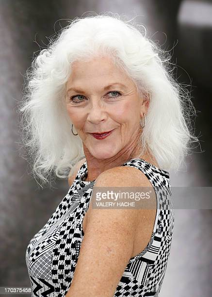 Canadian actress Linda Thorson poses on June 12 2013 during a photocall at the 53rd MonteCarlo Television Festival in Monaco AFP PHOTO / VALERY HACHE