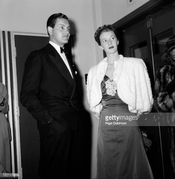 Canadian actress Lois Maxwell , USA, circa 1955.