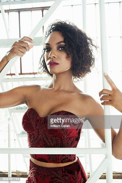 Canadian actress Lyndie Greenwood is photographed for The Source Magazine on January 16 2016 in Los Angeles California PUBLISHED IMAGE