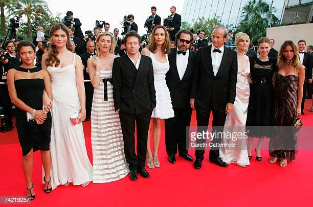 Canadian actress MarieJose Croze French actors Emmanuelle Seigner and Mathieu Amalric Spanish actress Olatz Lopez Garmendia US director Julian...