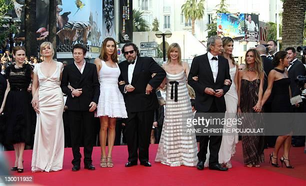 Canadian actress MarieJosee Croze French actors Emmanuelle Seigner and Mathieu Amalric Spanish actress Olatz Lopez Garmendia US director Julian...